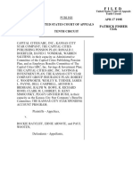 Capital v. Ratcliff, 141 F.3d 1405, 10th Cir. (1998)