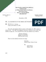 Pro Finance, Inc. v. Spriggs, 166 F.3d 348, 10th Cir. (1998)