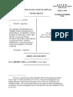 Hogan v. Oklahoma Department, 10th Cir. (1999)