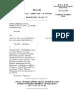 Mobil Exploration v. DOI, 10th Cir. (1999)