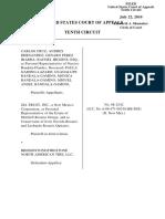 Cruz v. Bridgestone/Firestone, 10th Cir. (2010)