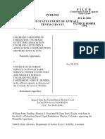 Colorado Farm v. US Forest Service, 220 F.3d 1171, 10th Cir. (2000)