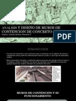 Concreto Armado-ANÁLISIS Y DISEÑO DE MUROS DE CONTENCIÓN DE CONCRETO ARMADO