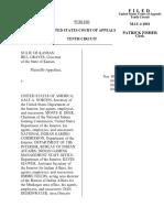 State of Kansas v. United States, 10th Cir. (2001)