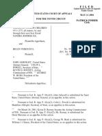 Rodrigues v. Ashcroft, 10th Cir. (2001)