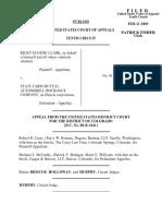 Clark v. State Farm Mutual, 319 F.3d 1234, 10th Cir. (2003)