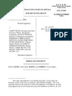 Cowles-Sims v. Fields, 10th Cir. (2003)