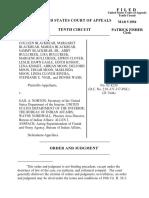 Blackbear v. Norton, 10th Cir. (2004)