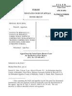 Ross v. McKinley County, 365 F.3d 1181, 10th Cir. (2004)