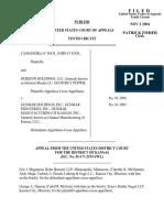 Horizon Holdings v. Genmar Holdings, Inc, 387 F.3d 1188, 10th Cir. (2004)