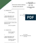 D.J. Simmons, Inc. v. Broaddus, 10th Cir. (2004)