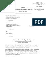 Board of County v. EEOC, 405 F.3d 840, 10th Cir. (2005)