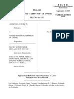 Anderson v. LABR, 422 F.3d 1155, 10th Cir. (2005)