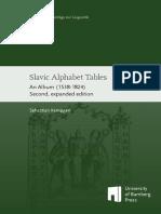 Slavic Alphabet Tables - An Album 1538-1