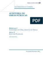Auditoria de Obras Publicas Modulo 2 Aula 2