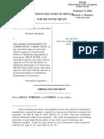 Asberry v. OKDOC, 10th Cir. (2010)