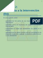 Módelo de Respuesta a La Intervención