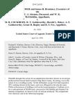 Charles J. Brenimer and James R. Brenimer, Executors of the Estate of C. J. Abrams, Deceased, and W. K. McGlothlin v. M. B. Cockburn, R. T. Goldsworthy, Harold L. Baker, A. F. Goldsworthy, Grant H. Bagley and R. S. Fox, 254 F.2d 821, 10th Cir. (1958)