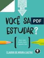 Voce Sabe Estudar_ - Claudio Moura Castro