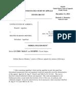United States v. Barocio-Mendez, 10th Cir. (2013)