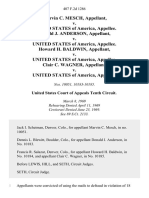 Marvin C. Mesch v. United States of America, Donald J. Anderson v. United States of America, Howard H. Baldwin v. United States of America, Clair C. Wagner v. United States, 407 F.2d 1286, 10th Cir. (1969)