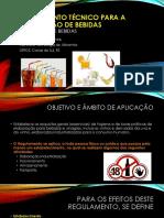 Regulamento Técnico Para a Fabricação de Bebidas