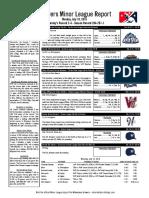 7.18.16 Minor League Report