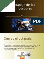Octanaje Mezcla Aire Combustible