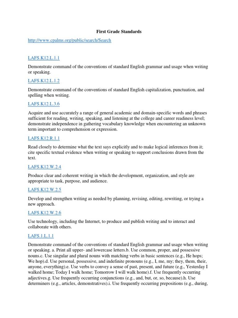 Workbooks k12 comprehension worksheets : first grade standards | English Grammar | English Language