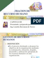Administración de Recurso Humano