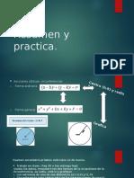 Resumen circunferencia