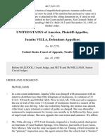 United States v. Juanita Villa, 46 F.3d 1153, 10th Cir. (1995)