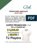 Promociones Mensuales Mayo