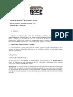 Regulamento Corrida de Obstáculos 2016 - OFICIAL