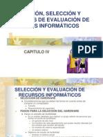 ADQUISICION, SELECCION Y CRITERIOS DE EVALUACION DE RI