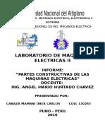 Informe Maquinas Electricas II