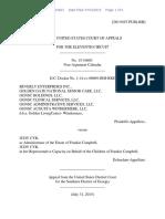 Beverly Enterprises, Inc. v. Judy Cyr, 11th Cir. (2015)