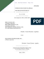 MDS (Canada) Inc. v. Rad Source Technologies, Inc., 11th Cir. (2013)