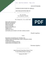 Benjamin Burgess v. Religious Technology Center, Inc., 11th Cir. (2015)