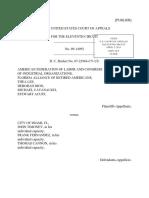 American Federation of Labor v. City of Miami, 11th Cir. (2011)