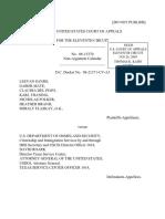 Leevan Sands v. U.S. Dept. of Homeland Sec., 11th Cir. (2009)