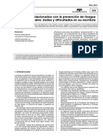 Terminos Relacionados Con La Prevencion de Riesgos Laborales