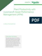 Improving Plant Productivity With APM 998-2095-05!13!16AR0_EN