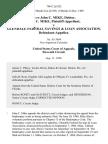 In Re John C. Mike, Debtor. John C. Mike v. Glendale Federal Savings & Loan Association, 796 F.2d 382, 11th Cir. (1986)