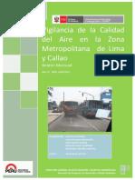 Vigilancia de la Calidad del Aire en la Zona Metropolitana de Lima y Callao
