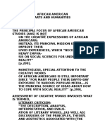 AFST100Notes.humanities