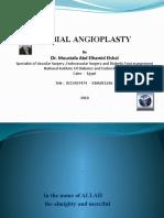 Tibial Angioplasty _pps by Dr. MOUSTAFA Abd Elhamid ELSHAL Medics Index Member