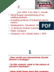 Lincoln company