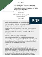 James Floyd Smelcher v. Attorney General of Alabama John E. Nagle, 947 F.2d 1472, 11th Cir. (1991)