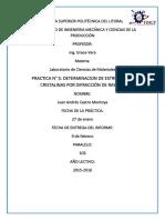 Practica 5 Determinacion de Estructuras Cristalinas Por Difraccion de Rayos X
